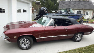 1968 Pontiac Beaumont Custom Series Convertible - Rare