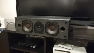 Energy center channel speaker