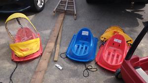 Infant/ toddler sleds