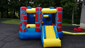 Banzai Jump 'N Go Obstacle Course Inflatable Bouncy House