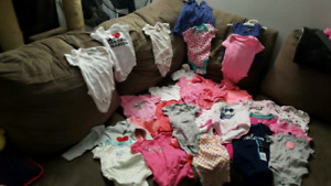 Baby girl clothes.