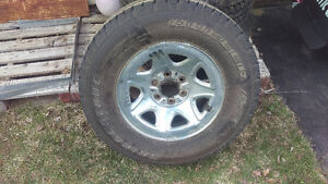 New dueller A/T on Chevy/Gmc rims