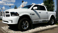 "2015 DODGE RAM 1500 SPORT 6"" BDS, FLARES, BOARDS & GORGEOUS RIMS"