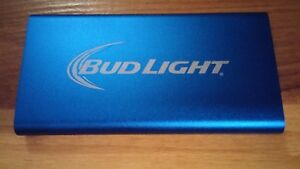 Bud Light Power Bank Batterie Chargeur Usb NEUF