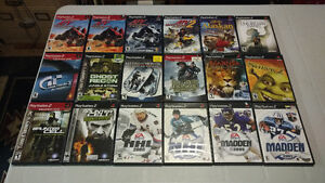 PlayStation 2 games PS2 $2 each