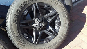 New Winter Truck/SUV Tires and Back Iron Rims For Sale
