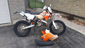 Ktm 300xcw Blue Plated