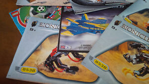 Nine Bionicle Lego Pattern Books, Lego Technic Kitchener / Waterloo Kitchener Area image 5