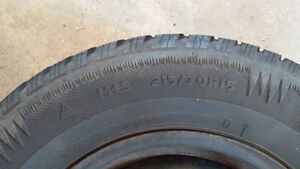 Arctic Claw winter tires and rims 215/70R15 - Need Gone