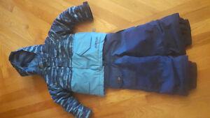 Manteau d'hiver burton avec botte et mitaine
