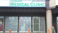 DOCTOR ACCEPTING PATIENTS--SARCEE PLAZA SW