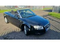 2007 Audi A4 2.0 TDi S Line 2dr only 75500 miles genuine CONVERTIBLE Diesel Man
