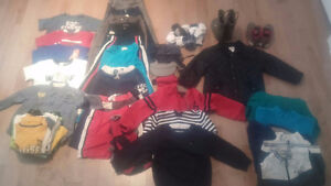 Gros lot de vêtements garçon 2T-3T - Large lot of boy clothes