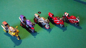 Model motorcycles 1/18