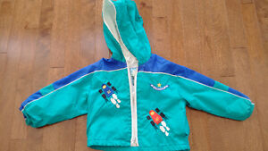 Fall/Spring Jacket with hood - Race Cars