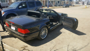 1991 benz SL500 convertible LOW KM/GREAT SHAPE