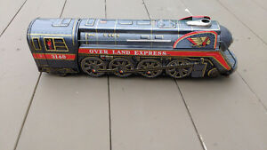 1960s Battery Operated Overland Express Train