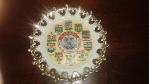 Vintage glass/plates/dishes/collectibles