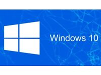Microsoft Windows 10 Pro 64-bit OR 32-bit Bootable USB Drive