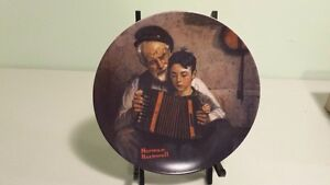 'THE MUSIC MAKER' COLLECTOR PLATE BY NORMAN ROCKWELL