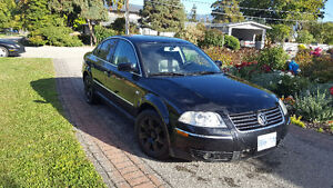 2001 Black on Black Vw Passat
