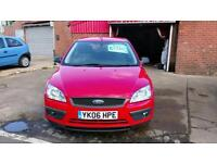 FORD FOCUS 1.6 SPORT BRIGHT RED 79900 MILES BLUETOOTH ONLY £18 WEEK P/LOAN 2006