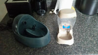 Cat Fountain and Pet Feeder