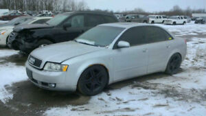 2005 AUDI A4 .. JUST IN FOR PARTS AT PIC N SAVE! WELLAND