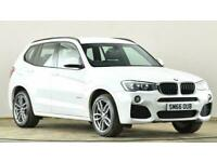 2016 BMW X3 xDrive20d M Sport 5dr Step Auto SUV diesel Automatic