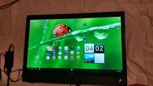 "Acer Media All-In-One 22"" Touch Screen."