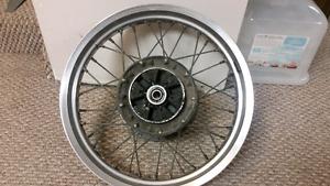 KLR 650 Rear wheel