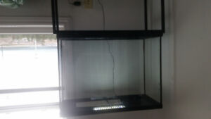 40 gal fish tank and stand.