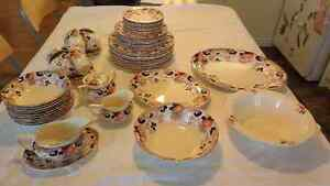 Full Set (68 pieces) Antique Dinnerware Hollinshead & Kirkham Sarnia Sarnia Area image 1