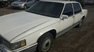 91 Cadillac Deville with a solid body