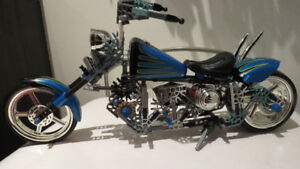 Jeu K'NEX 2006 Orange County Choppers - COMPLET !