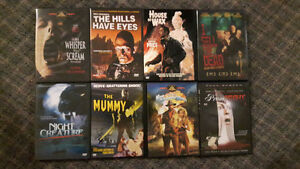 TONS OF HORROR AND OOP DVDS FOR SALE