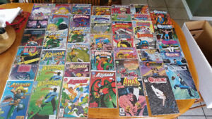 Mint condition DC comic book collection