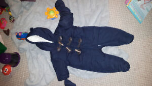 Baby Boy Snow Suit