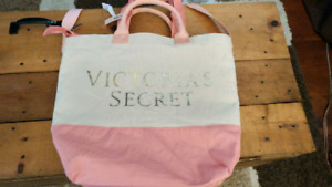 Victoria's Secret bag with cooler insert.