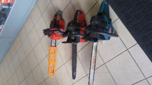 2 Chainsaws Homelite - 2 cycle Gasoline
