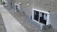 Basement renovations,Egress window,Concrete Cutting,