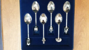 Silver Jubilee Collector Spoon Set. Price negotiable