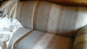 Couch with hideaway bed