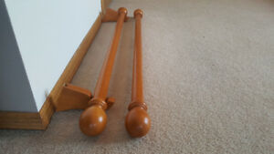 Wooden Curtain Rods
