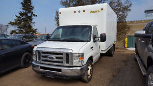 2012 Ford E-350 Cube 16Ft Box 5.4L V8 Gasoline