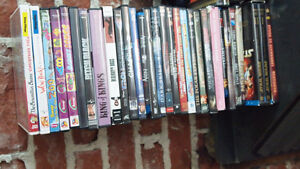Dvd and bluray lot