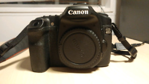 Canon 40D semi-pro DSLR camera body