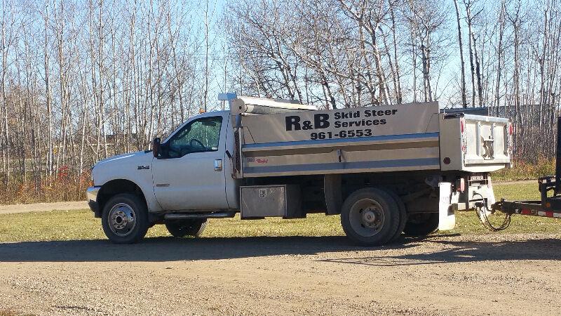 R&B Skid steer Services, mini excavator, landscaping ...