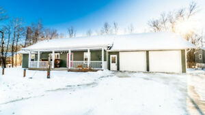 Beautiful Rancher Style Bungalow With Covered Front Veranda