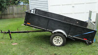 Dump utility trailer 4ft 2in x 8 ft 3 inch Fit RZR